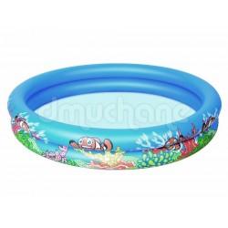 Gyermek medence, Bestway, 152x25 cm, tengeri állatos