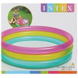 3 gyűrűs színes gyermekpancsoló 86cmx25cm