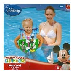 Mickey egeres felfújható mellény 51x46cm 3-6 éves korig