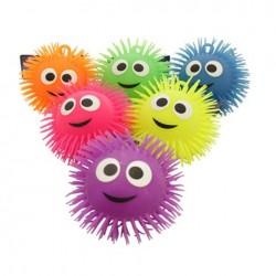 Smile világító bolyhos labda