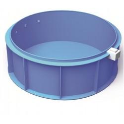 Polipropilén kör medence, 4x1,5 m