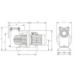 MAGNUS-2 1500 IE3 180m3/h H10m 15,0HP 230V/400V