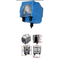 Microdos MP2-R 1,5l/h - 1bar szabályozható adagolás 0-100%-ig