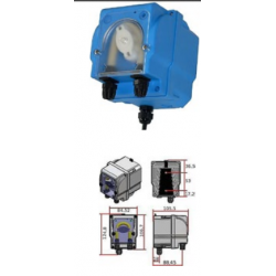 Microdos MP2-R 6l/h - 1bar szabályozható adagolás 0-100%-ig