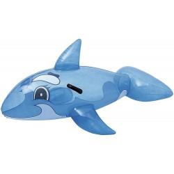 Delfin kék átlátszó 160 cm Bestway