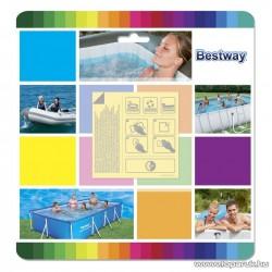 Bestway Öntapadós víz alatti medence javítófolt, 10 darab / szett