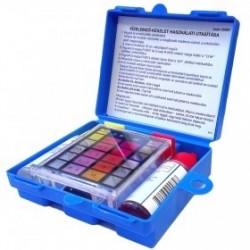 Vízelemző, pH és klór, folyadékos