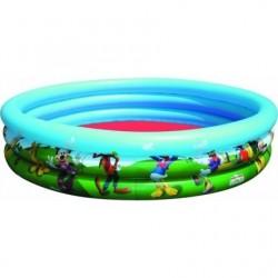 Gyermek medence, Bestway, 122x25 cm, Mickey és barátai