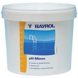 pH csökkentő granulátum, 6 kg