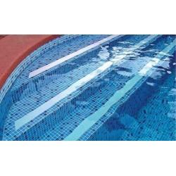 ELBTAL típusú medence fólia kék mozaikmintás 165 cm széles