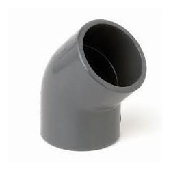 PVC könyök 45 D20