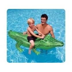 Krokodil lovagló, 2 személyes, 203x114 cm, Intex